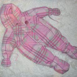 habit de neige fille bébé rose