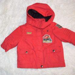 Manteau rouge garçon enfant
