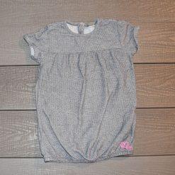 Chandail gris fille bébé