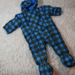 Habit de neige bleu carotté bébé garçon