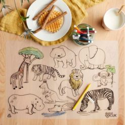 Napperon animaux jungles