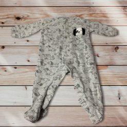 Pyjama chien saucisse Pekkle bébé fille