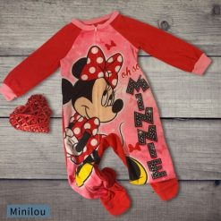 Pyjama 1-pièce Minnie Disney enfant fille